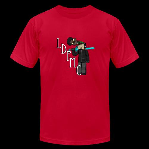 LDPMC - EdwardSherman - Men's American Apparel - Men's Fine Jersey T-Shirt