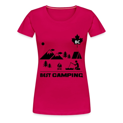 BC Best Camping - Women - Women's Premium T-Shirt