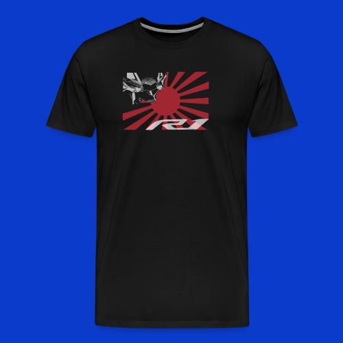 Japans Rising Eagle! - Men's Premium T-Shirt