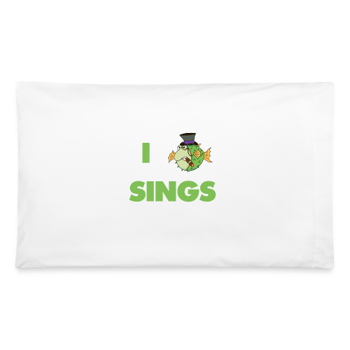 The Fugu Network I Fish Sings Pillowcase - Pillowcase