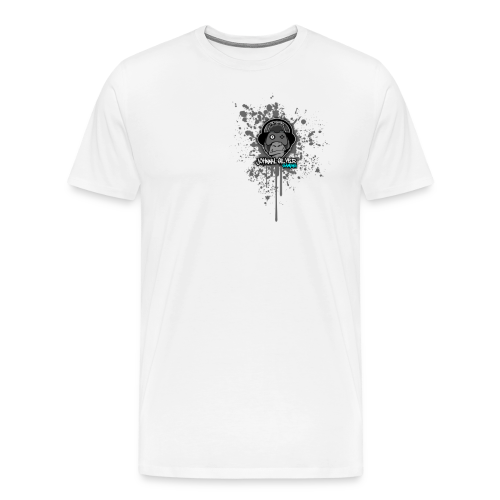 johnnysilver paint run - Men's Premium T-Shirt