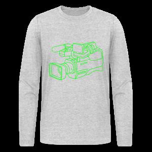 video camera - Men's Long Sleeve T-Shirt by Next Level