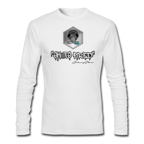 johnnysilver shots fired long sleeve - Men's Long Sleeve T-Shirt by Next Level