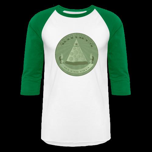 All Hail Pizza Baseball 3/4 Tee - Baseball T-Shirt