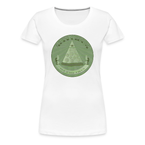 All Hail Pizza Women's Cut Premium Tee - Women's Premium T-Shirt