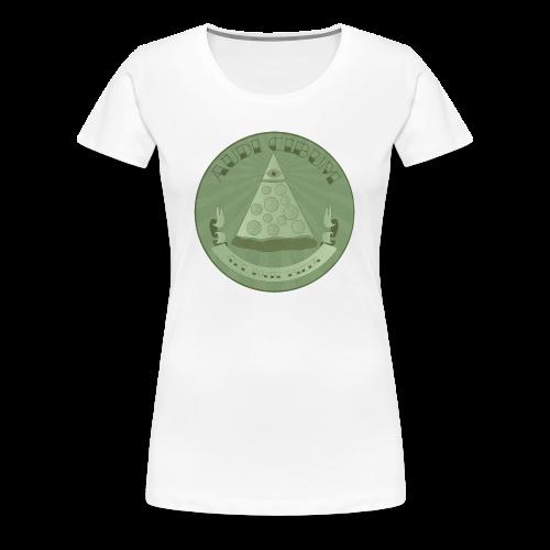All Hail Pizza Women's Cut Premium Tee - Women's Premium T-Shirt