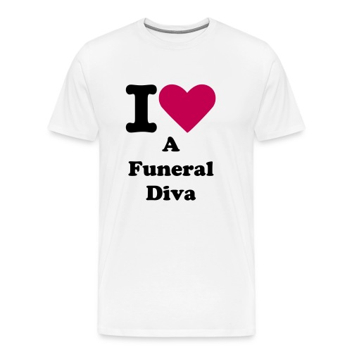 Men Luv Funeral Divas - Men's Premium T-Shirt