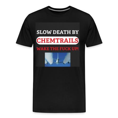 Mens Chemtrail t-shirt - Men's Premium T-Shirt