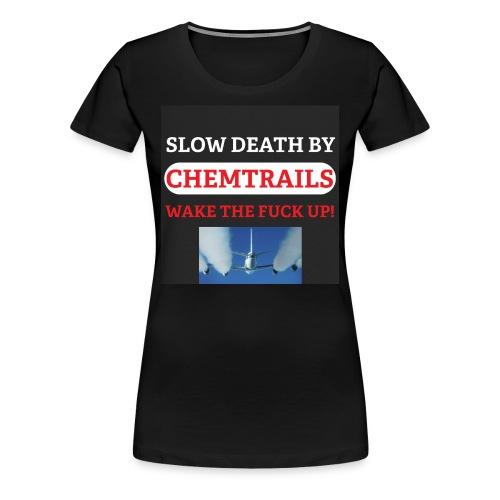 Womans Chemtrail t-shirt - Women's Premium T-Shirt