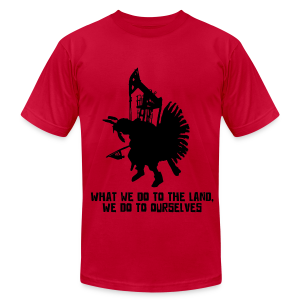 Badger Two Medicine Fracking Shirt - Men's Fine Jersey T-Shirt