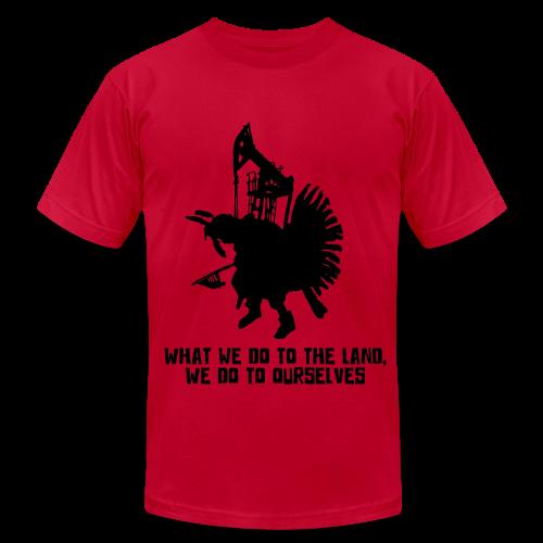 Badger Two Medicine Fracking Shirt - Men's  Jersey T-Shirt