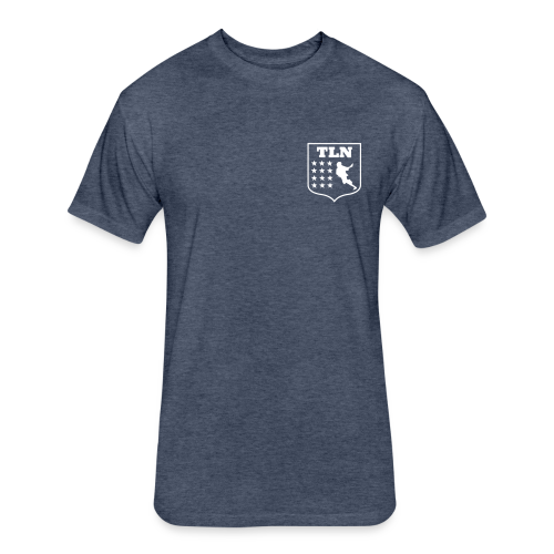 TLN team Shirt - Fitted Cotton/Poly T-Shirt by Next Level