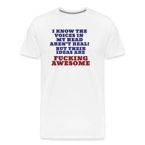 The Voices - Men's Premium T-Shirt