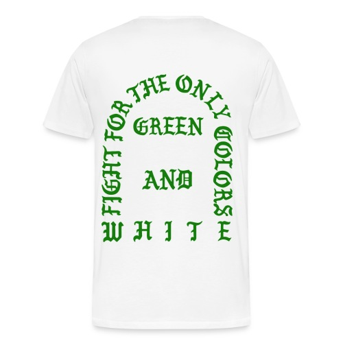 The Life of Sparty White Tee - Men's Premium T-Shirt
