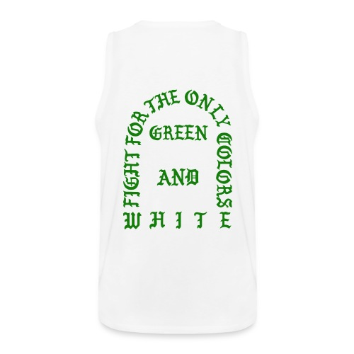 The Life of Sparty White Tank  - Men's Premium Tank