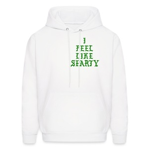 The Life of Sparty White Hoodie  - Men's Hoodie