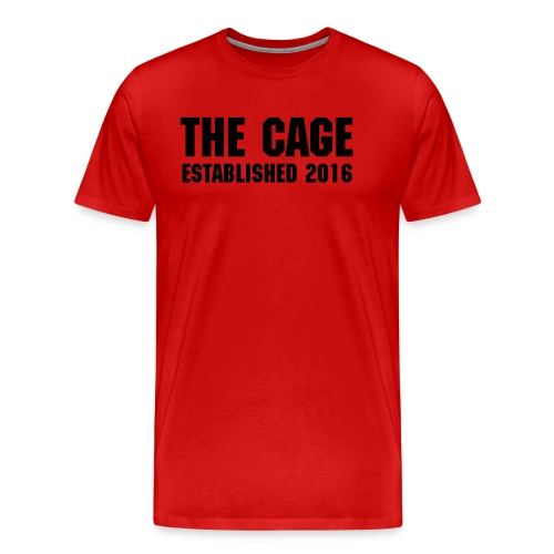 The Cage Established 2016 - Men's Premium T-Shirt