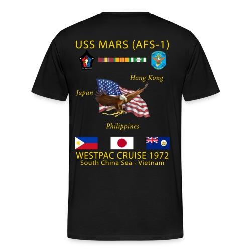 USS MARS 1972 CRUISE SHIRT - Men's Premium T-Shirt