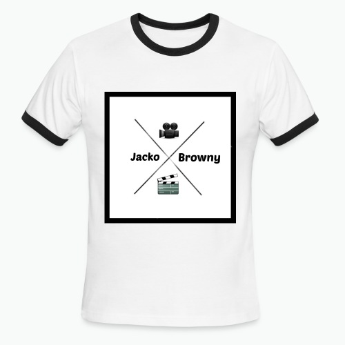 B/W Shirt - Men's Ringer T-Shirt