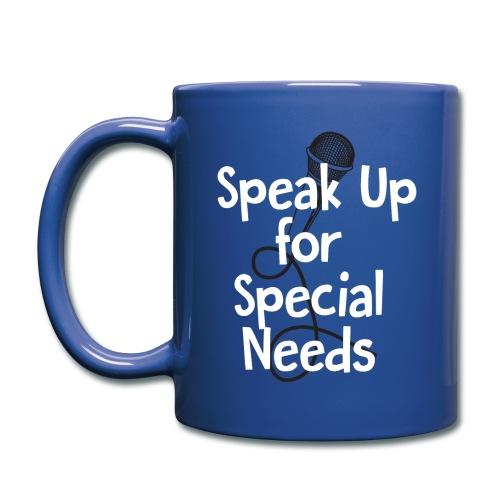 Speak Up for Special Needs Mug - Full Color Mug