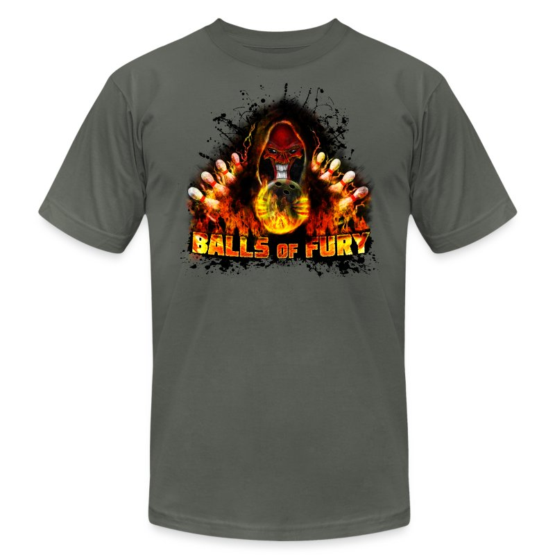 Balls of Fury - Men's T-Shirt by American Apparel