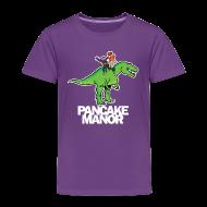 Baby & Toddler Shirts ~ Toddler Premium T-Shirt ~ TODDLER: Dino Riders