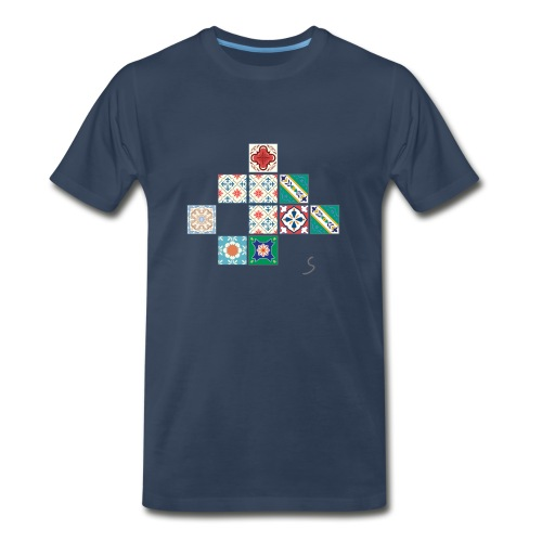Tile desorder - Men's Premium T-Shirt