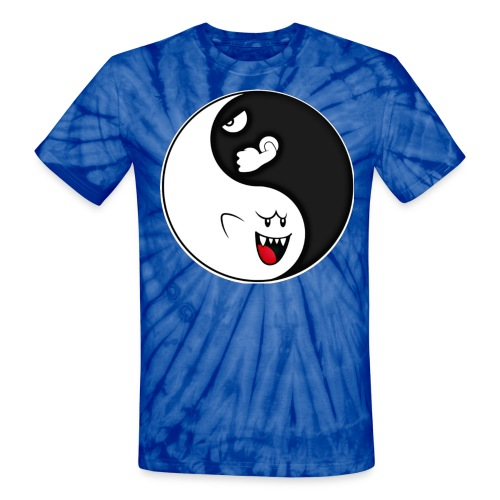 Boo-let Bill - Yin Yang - Unisex Tie Dye T-Shirt