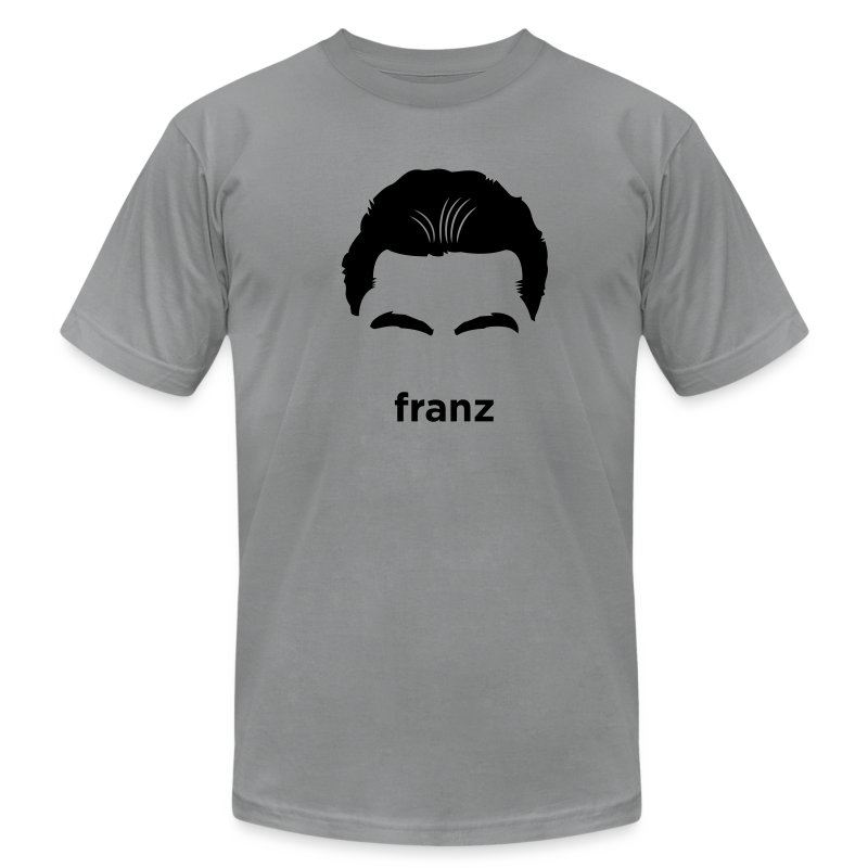 [franz-kafka] - Men's T-Shirt by American Apparel