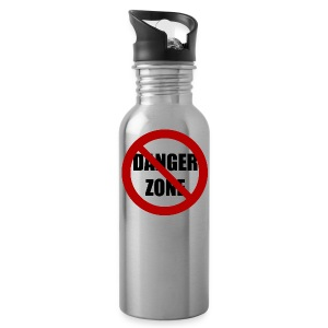 Danger Zone Free Zone Water Bottle - Water Bottle