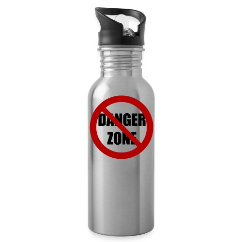 Danger Zone Free Zone Water Bottle - Water Bottle