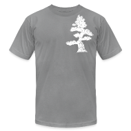 T-Shirts ~ Men's T-Shirt by American Apparel ~ Crooked Pine