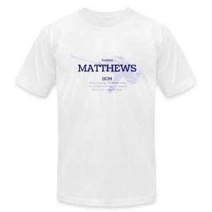 Men's Crew Neck Matthews 16:34 - Men's Fine Jersey T-Shirt