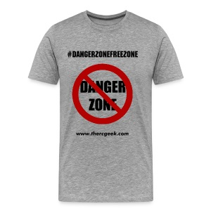 Danger Zone Free Zone T-Shirt - Men's Premium T-Shirt