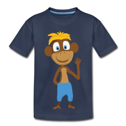 Toddler T-Shirt Monkey - Toddler Premium T-Shirt