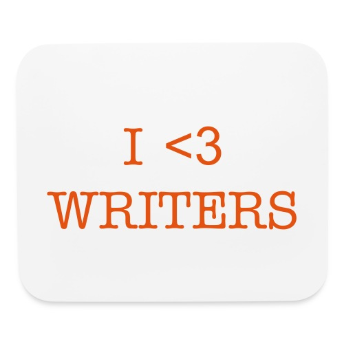 I HEART WRITERS - Mouse pad Horizontal