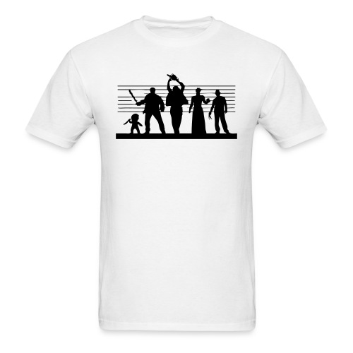Horror Icon Line-Up T-shirt - Men's T-Shirt