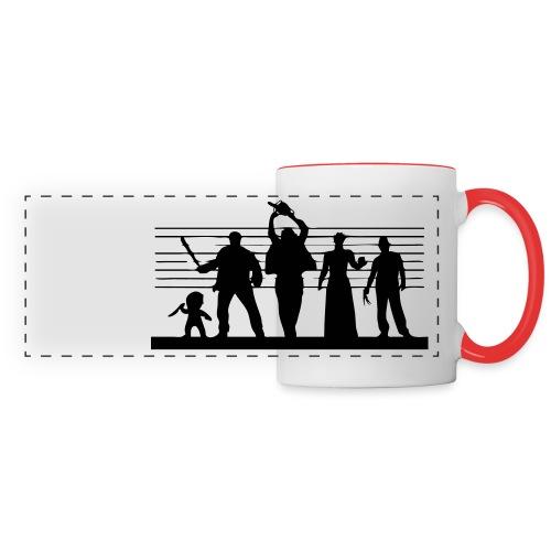 Horror Icon Line-Up Panoramic Mug (two colors) - Panoramic Mug