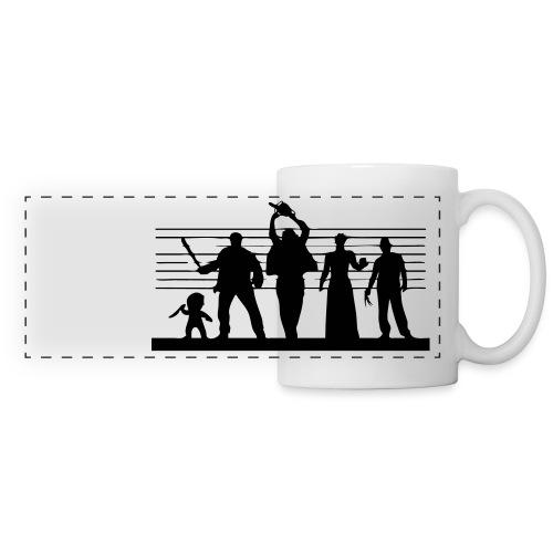 Horror Icon Line-Up Panoramic Mug - Panoramic Mug