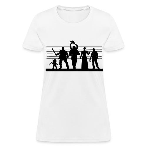 Horror Icon Line-Up - T-shirt - Women's T-Shirt