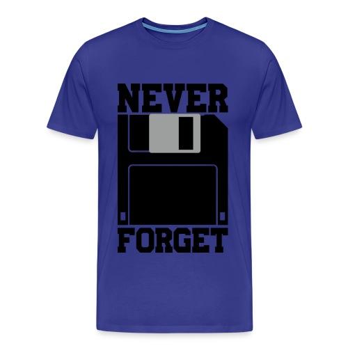 Floppy Disk - Men's Premium T-Shirt