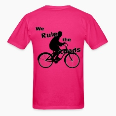 We Rule the Roads (Cyclist) (back)