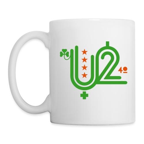 U+2=40 - single sided print - Coffee/Tea Mug
