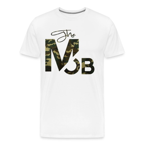 The MOB BootCamp Edition (WHITE) - Men's Premium T-Shirt