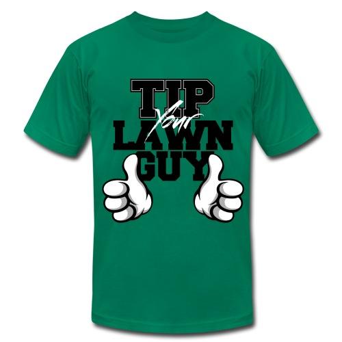 Tip Your Lawn Guy Regular Fit Jersey Tee - Men's Fine Jersey T-Shirt