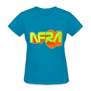 BLox3dnyc.com Heart1 design for afra - Women's T-Shirt