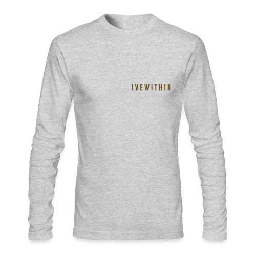 Gold Ivewithin - Men's Long Sleeve T-Shirt by Next Level