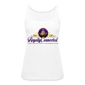 Royally Connected Signature Wide Neck Tank Top-Multiple Colors Available - Women's Premium Tank Top