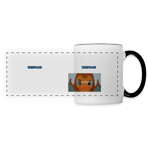TreeFam55 Long Design Mug  - Panoramic Mug