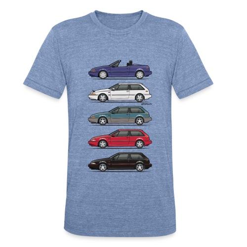 Stack of Volvo 480 - Unisex Tri-Blend T-Shirt